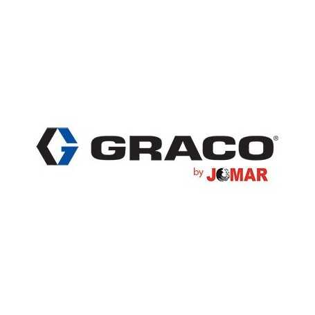 17X370 GRACO PCD FLAT 10  CUT DRUM ASSEMBLY FOR PRO/H